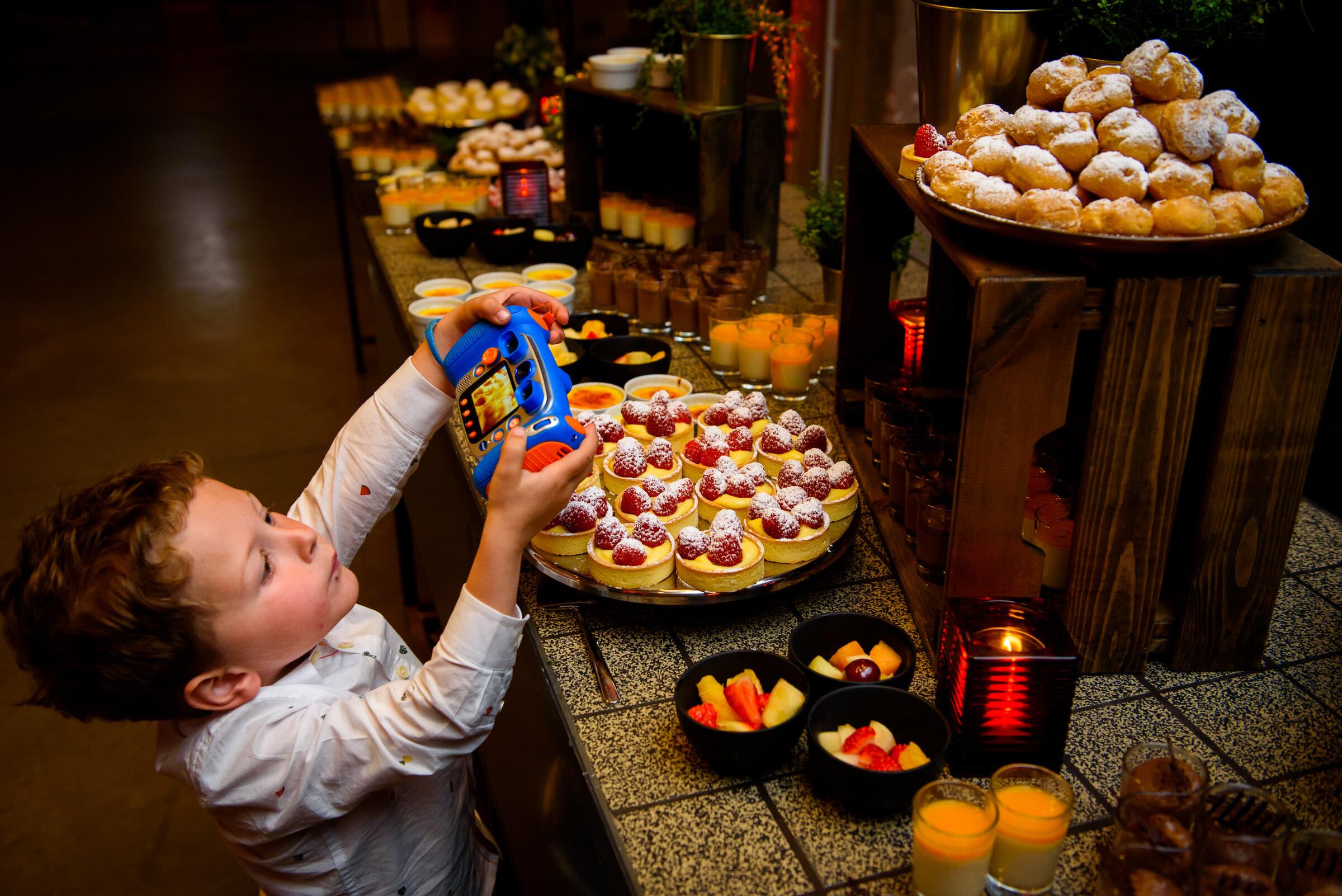 dessert buffet huwelijksreportage leuven