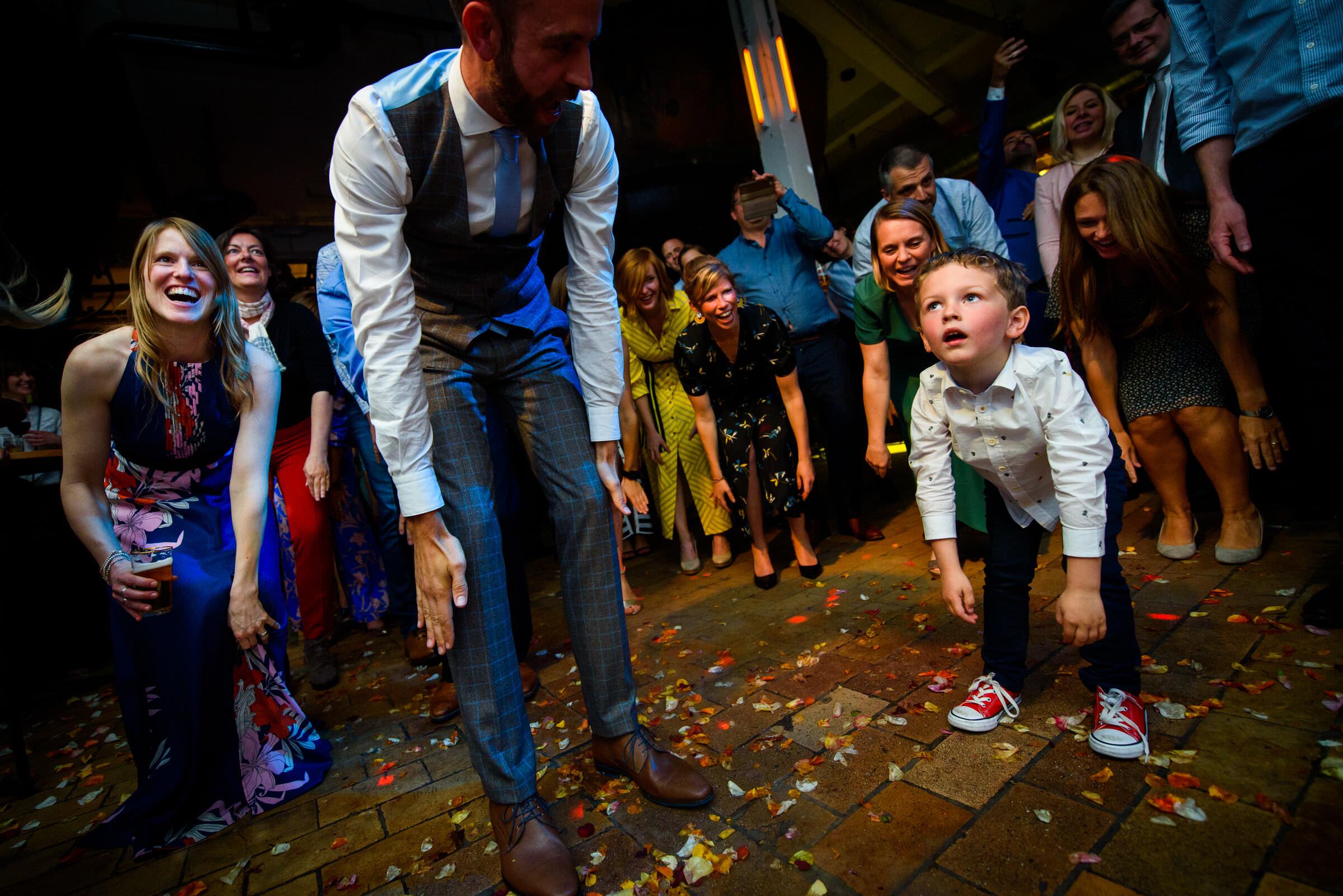 kinderen dansen huwelijksfeest leuven